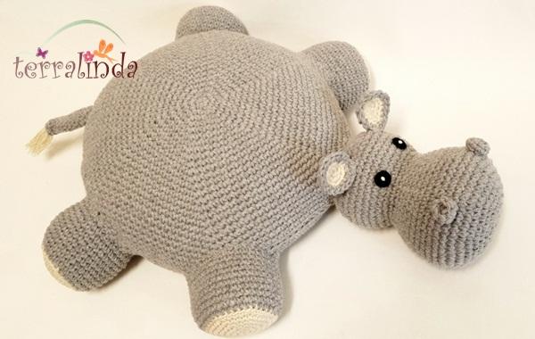 Almofafa Hipopótamo
